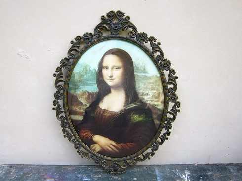AntiqueFrameMonalisa1