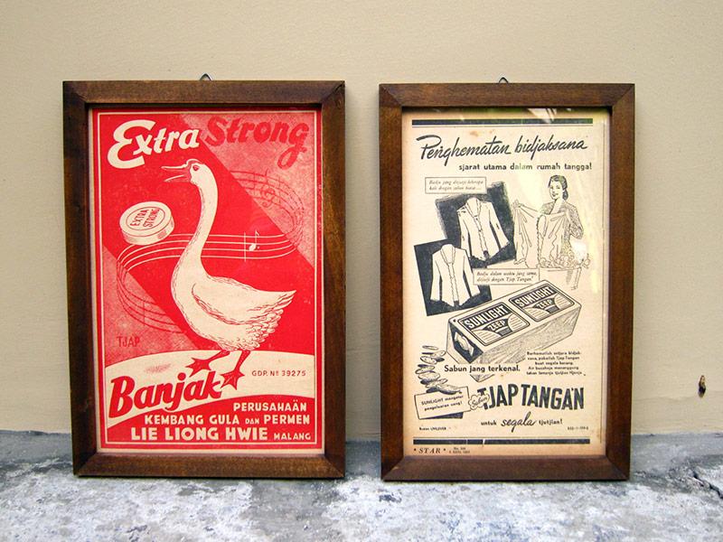 Poster Iklan Indonesia Lama 1950-an (SOLD)   Garasi Opa