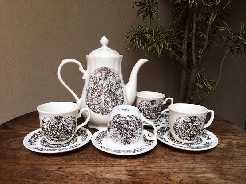 Gelas cangkir garasi opa vintage tea set buatan jepang ini terdiri dari 4 cangkir dan 1 teko dengan satu set ini anda bisa minum minum teh cantik di sore hari bersama teman teman thecheapjerseys Gallery